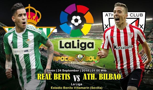 Prediksi Real Betis vs Athletic Bilbao 24 September 2018