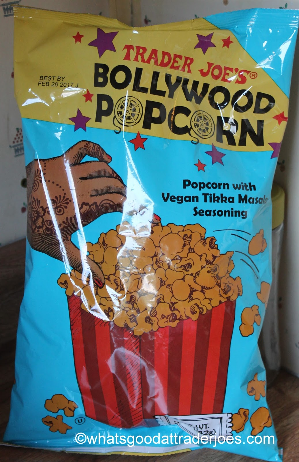 What\'s Good at Trader Joe\'s?: Trader Joe\'s Bollywood Popcorn