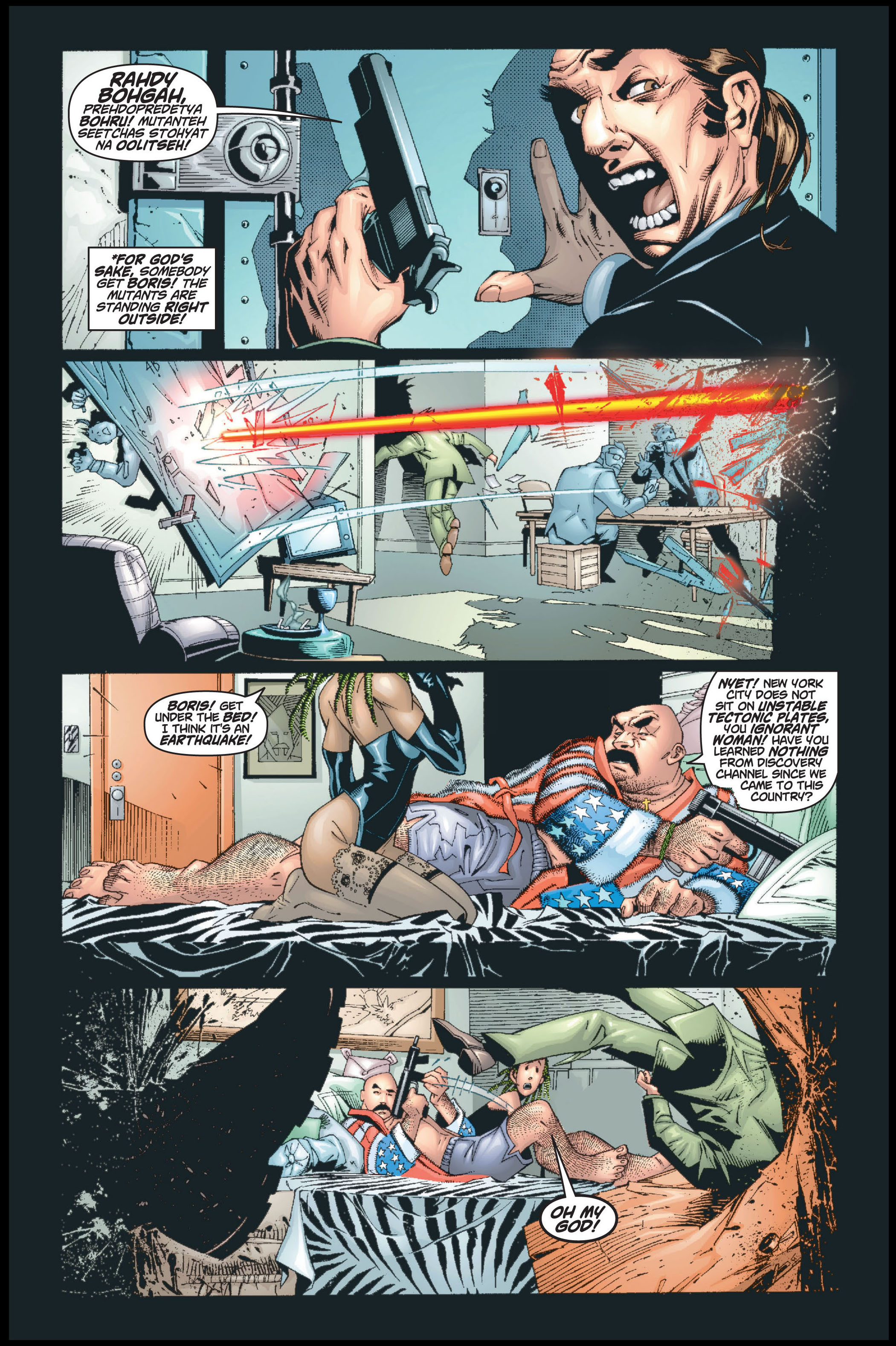 Read online Ultimate X-Men comic -  Issue #8 - 3