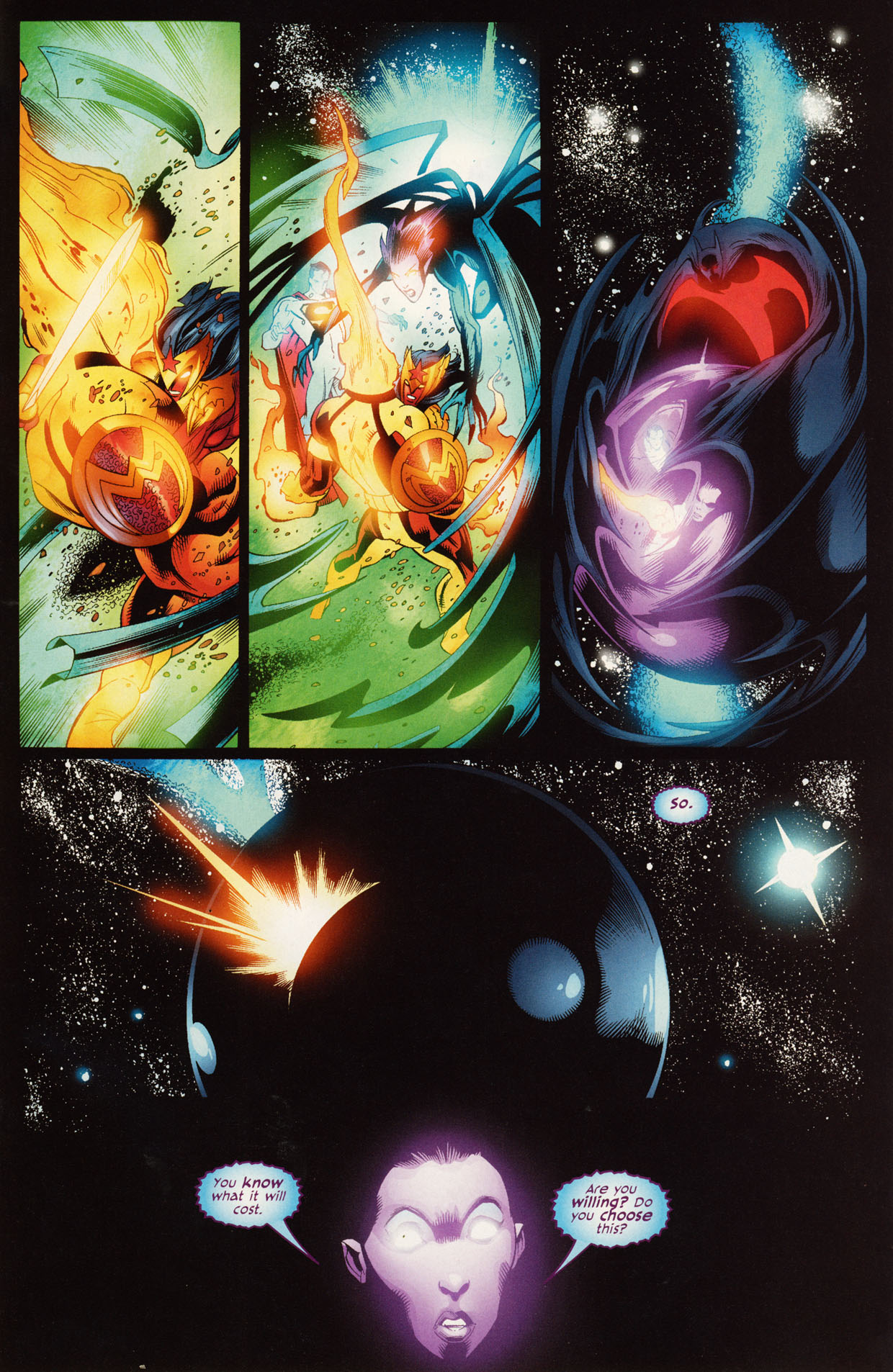 Read online Trinity (2008) comic -  Issue #50 - 25