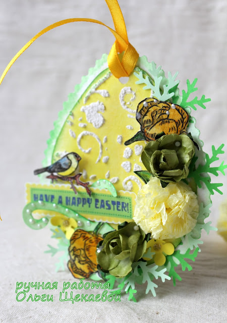 пасхальная открытка, яйцо