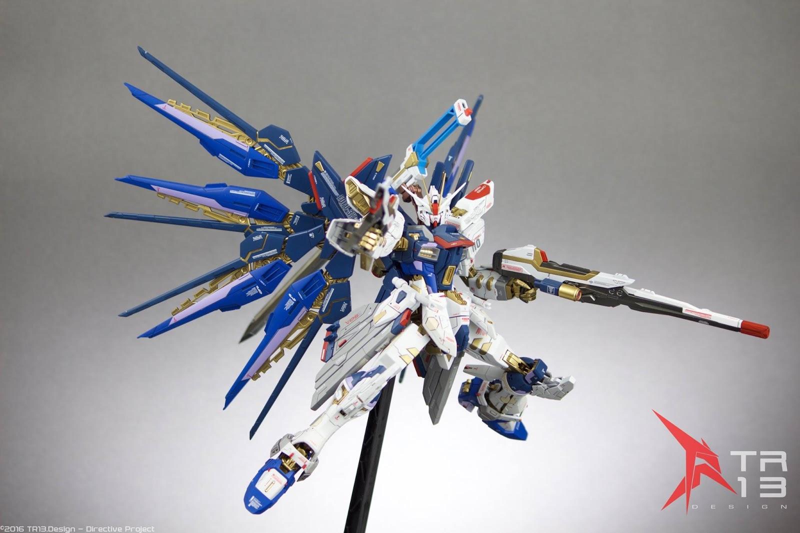 GUNDAM GUY: MG 1/100 Strike Freedom Gundam [Strike Falken ...