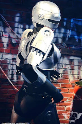 cosplay latinoamericano robocop femenino