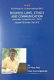 Business Laws, Ethics and Communication by Vijaya Raja