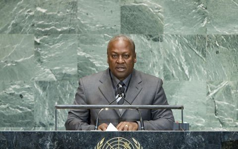 Mahama leaves for 71st UN General Assembly