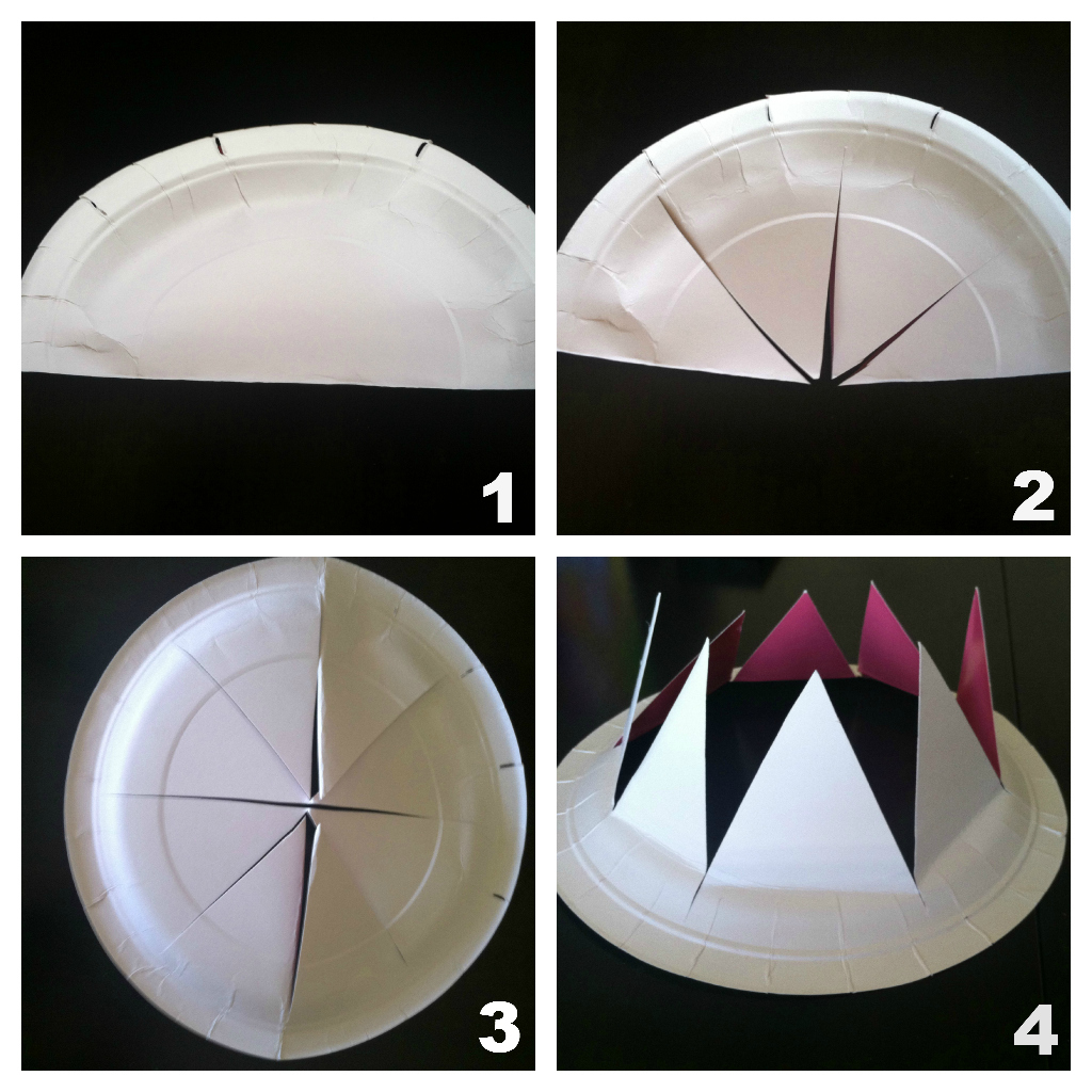 Paper Plate Hats Valentine Craft Paper Plate