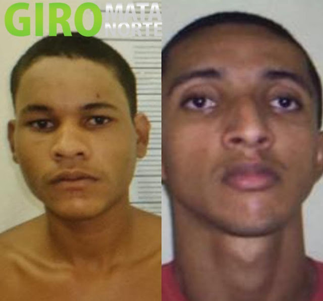 SERES divulga imagens dos foragidos da Penitenciária de Itaquitinga
