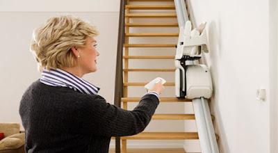 télécommande monte escalier