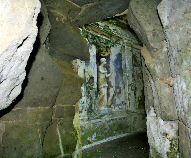 statua, roccia