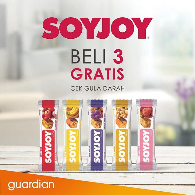 Guardian - Beli 3 Soyjoy Gratis Cek Gula Darah