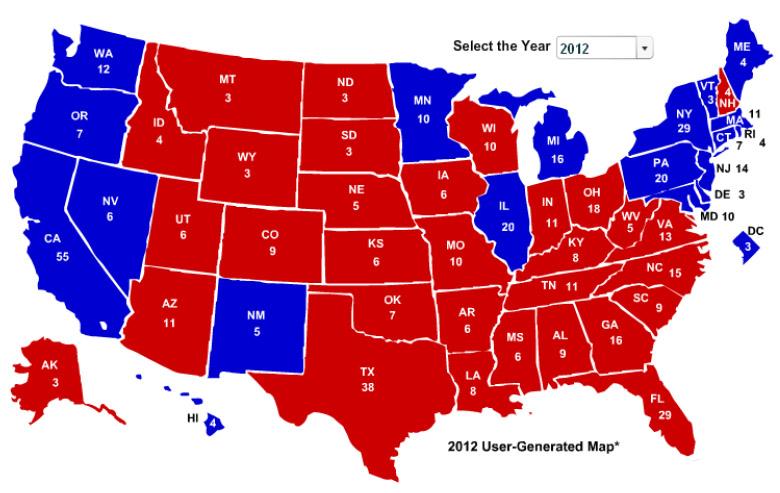 politics maps ronald reagan - photo #16