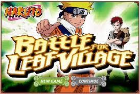Naruto Battle for Leaf Village