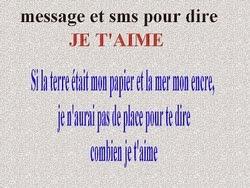 Message Et Sms Pour Dire Je Taime Messages Et Textes Damour