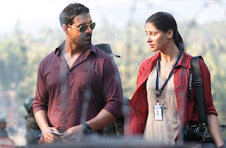 John Abraham and Nargis Fakhri in Madras Cafe, Directed by Shoojit Sircar