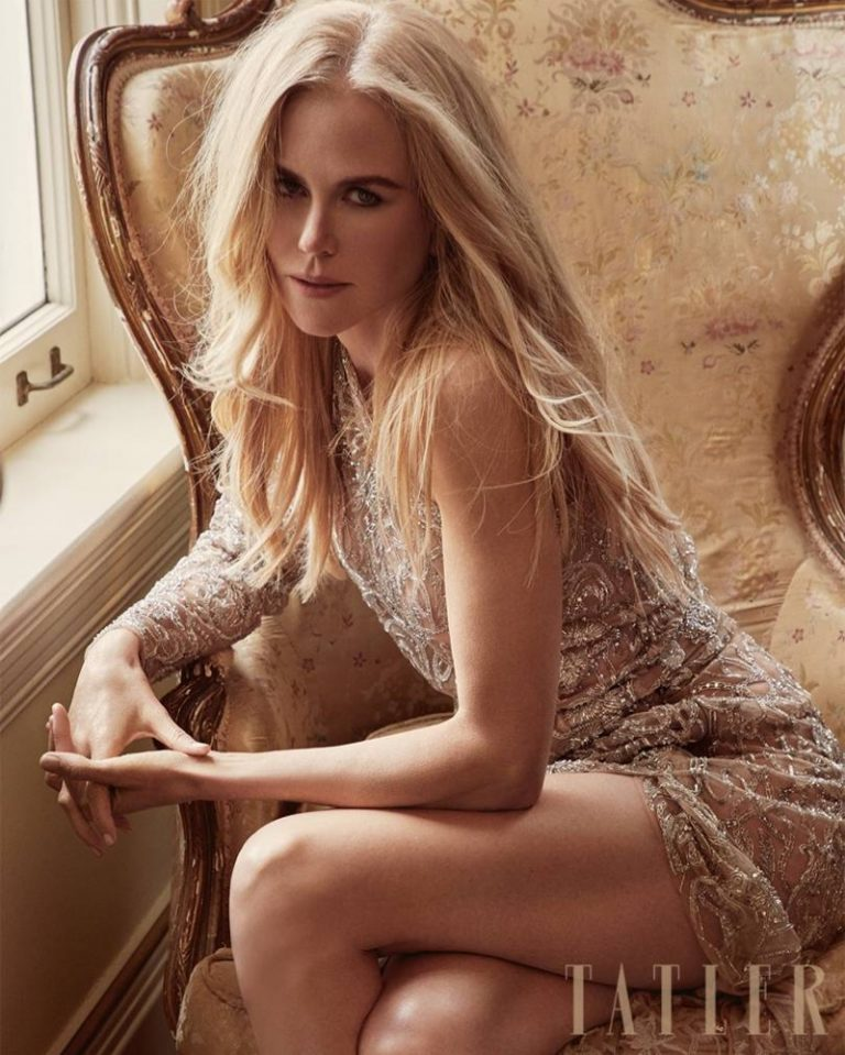 Nicole Kidman for Tatler UK July 2018