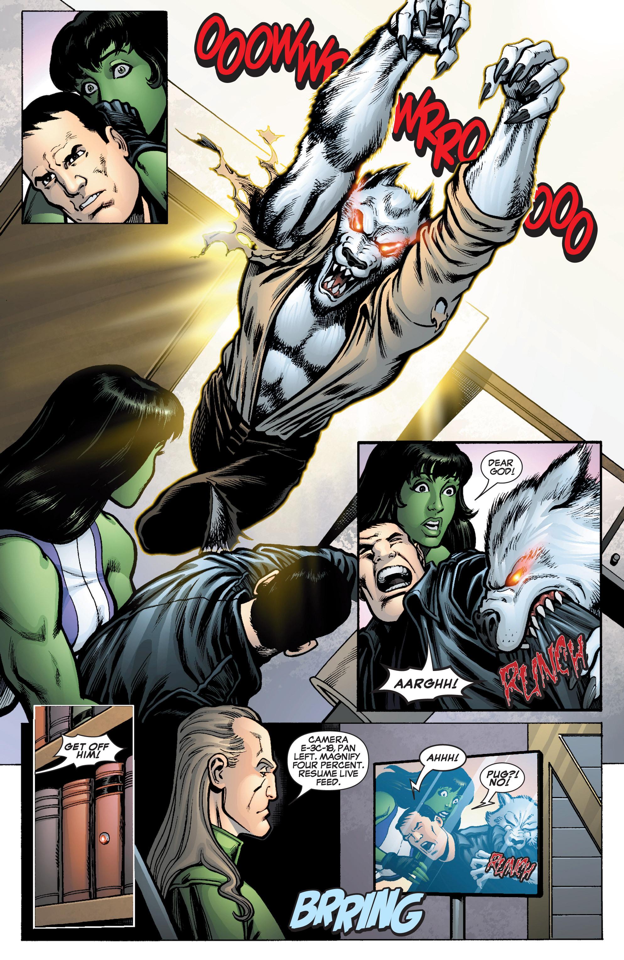Read online She-Hulk (2005) comic -  Issue #10 - 21