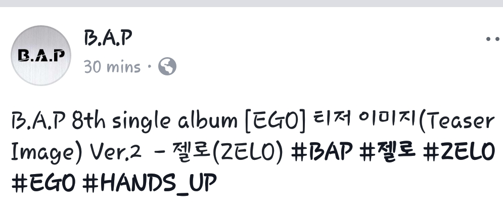 BYS: B A P - HANDS UP 안무영상(Dance Practice) and [찰떡B A P] 'EGO