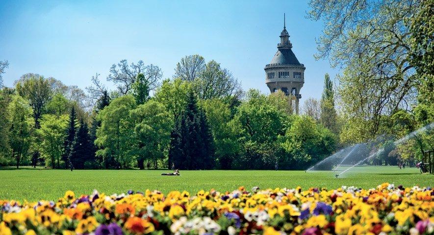 Budapest Isola Margherita e torre idrica