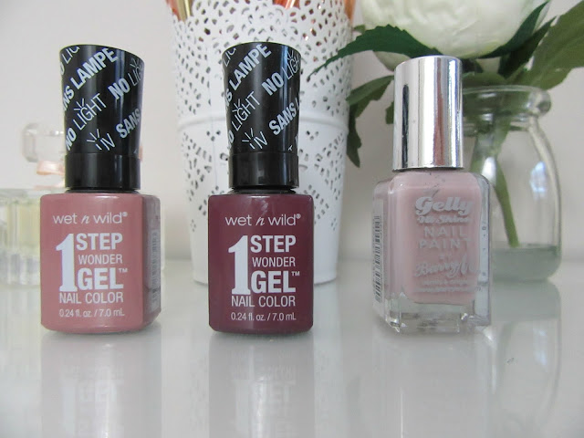 DIY gel manicure Wonder Gel and Gelly polishes