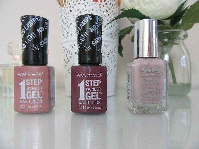 DIY gel manicure Wonder Gel and Gelly polishes