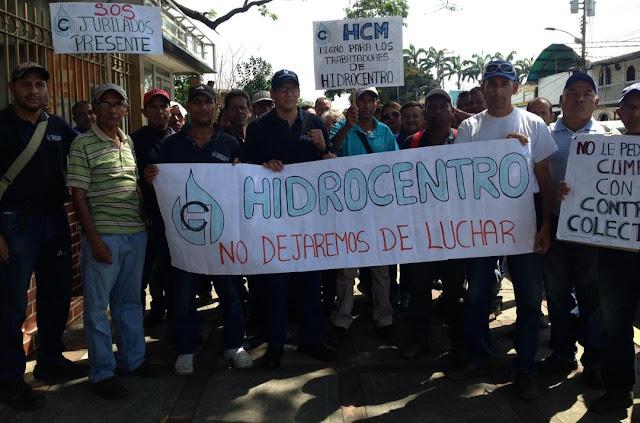 La Clase Obrera organizada en Aragua se moviliza en defensa de sus derechos