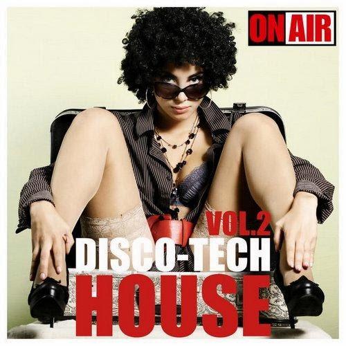 capa - Disco-Tech House, Vol. 2 - 2014