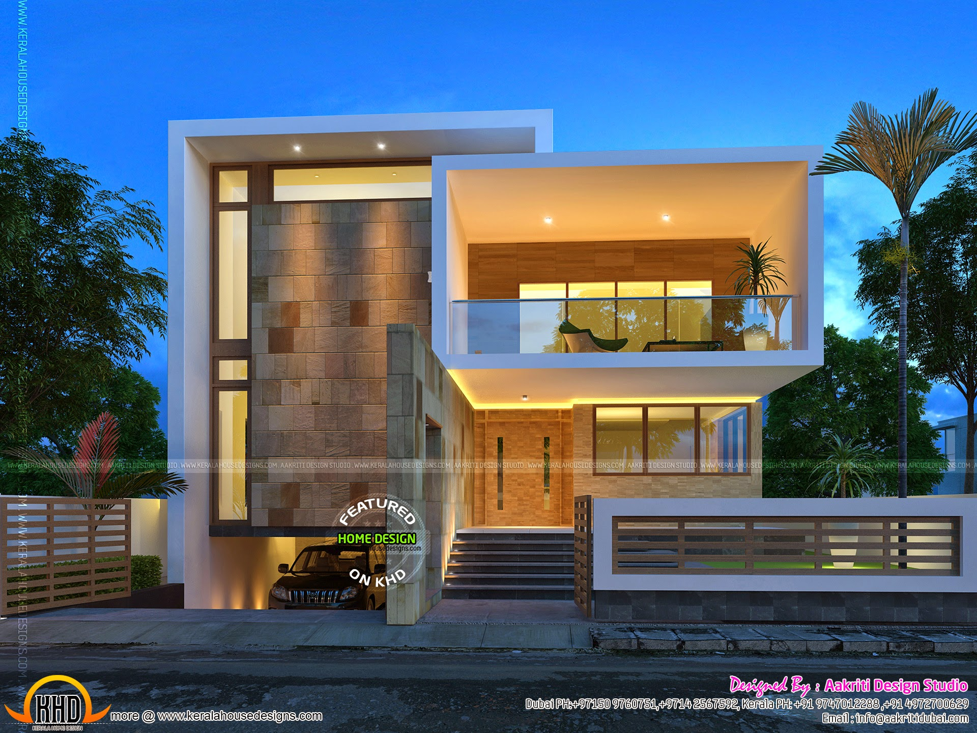 Kerala home design and floor plans beautiful contemporary for Kerala house designs 2014