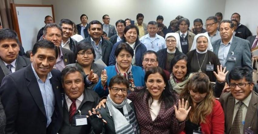 MINEDU: Los directores deben ser los líderes de la reforma en la educación, afirma Ministra de Educación, Flor Pablo - www.minedu.gob.pe