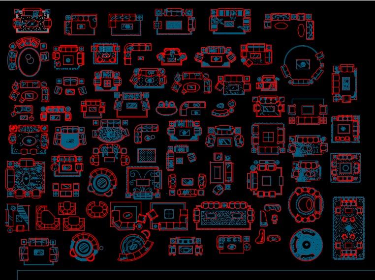 مكتبة بلوكات اوتوكاد جديدة 2017 - عالم الهندسة المعمارية World Of