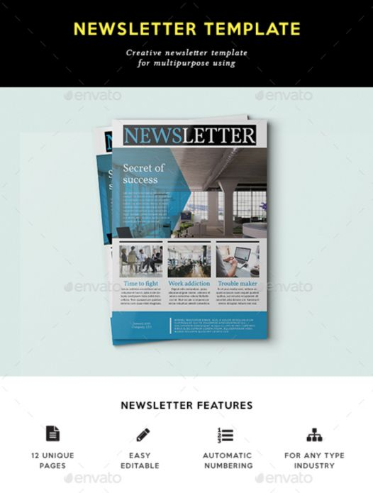 5. Multipurpose Newsletter