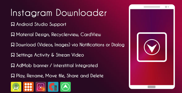 Instagram Downloader nulled, Instagram Downloader free download, Instagram Downloader nulled script