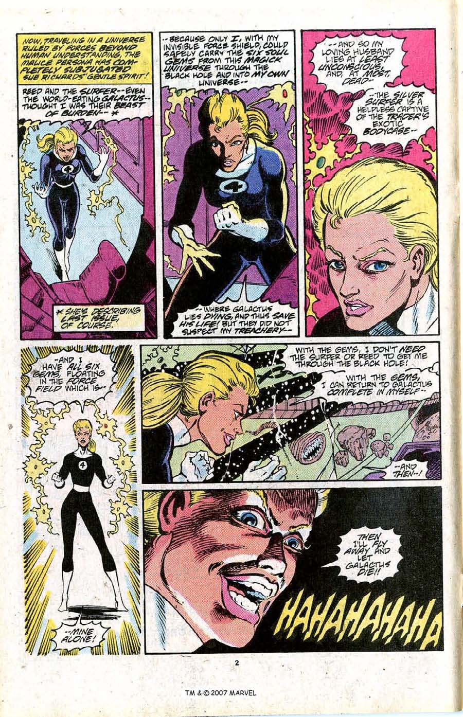 Read online Silver Surfer (1987) comic -  Issue #16 - 4