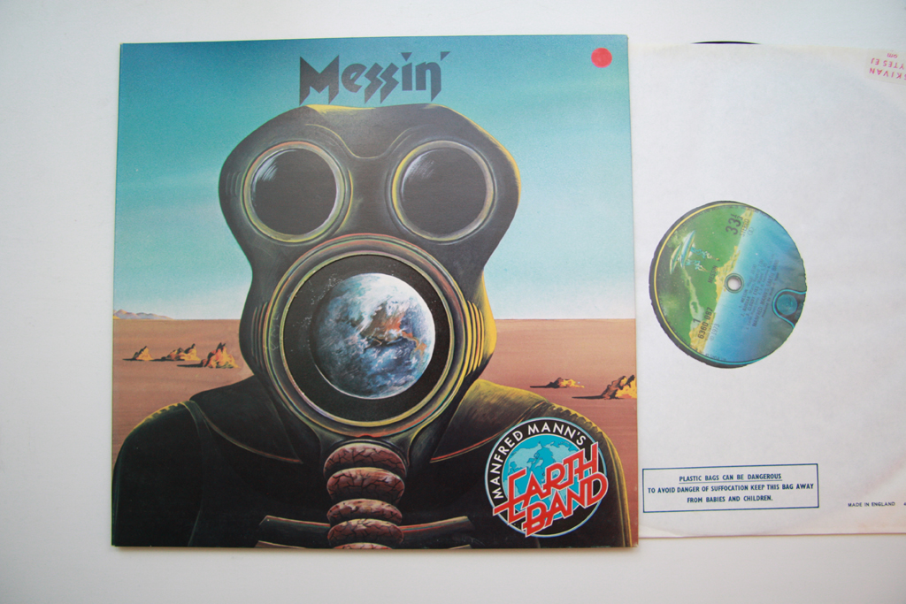 Vinyl Stockholm Manfred Manns Earth Band Messin Uk 1st