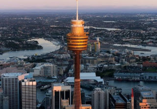 5 Bangunan Terkenal di Australia : Menara Sydeny