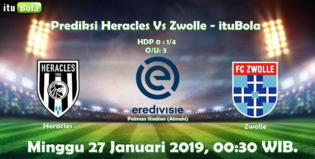 Prediksi Heracles Vs Zwolle - ituBola