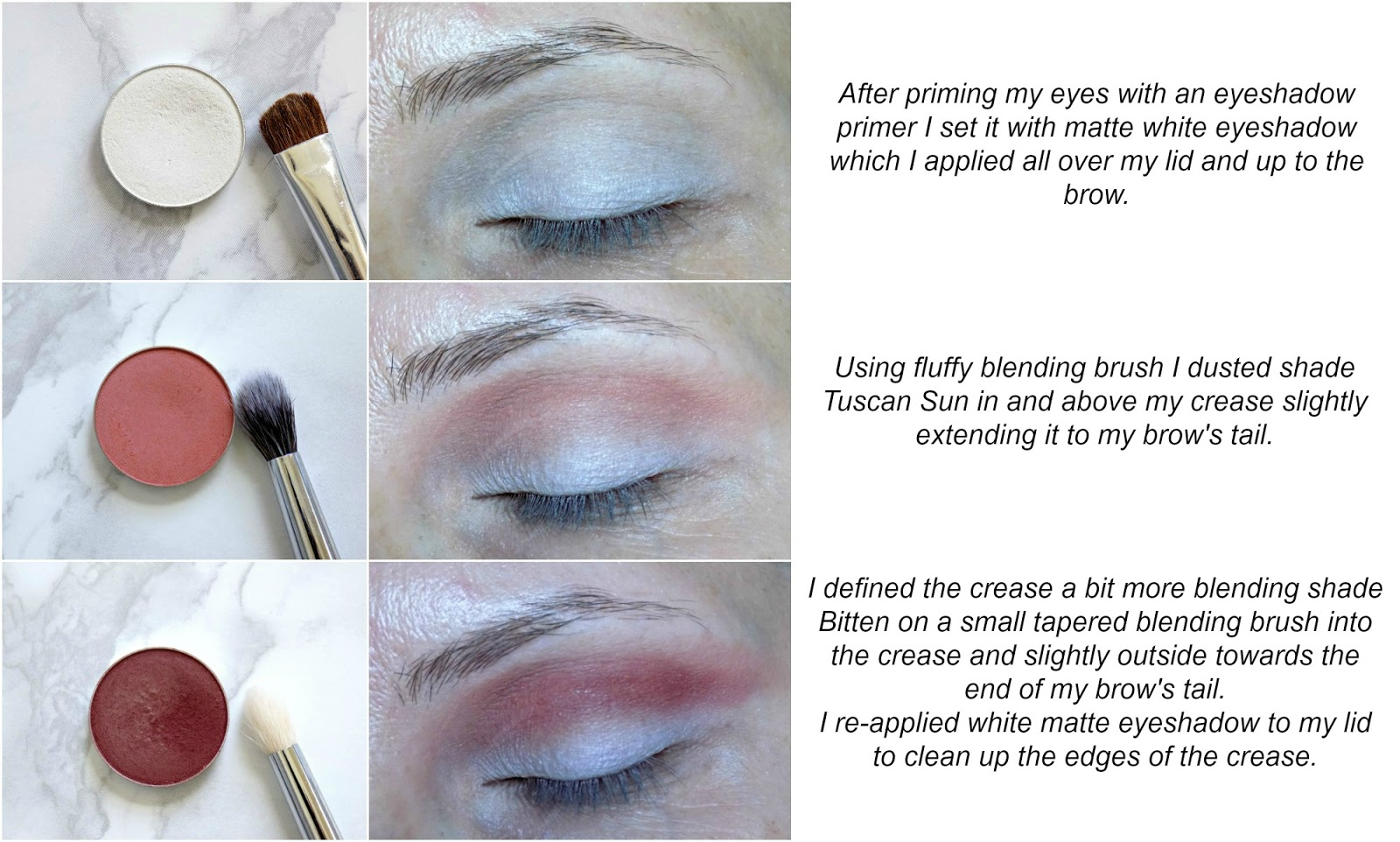 Eye makeup tutorial: metallic eye liner