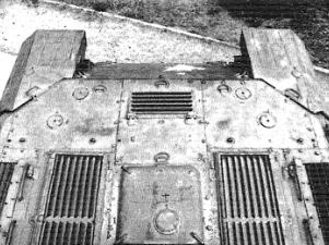 Крыша МТО танка Т-10М