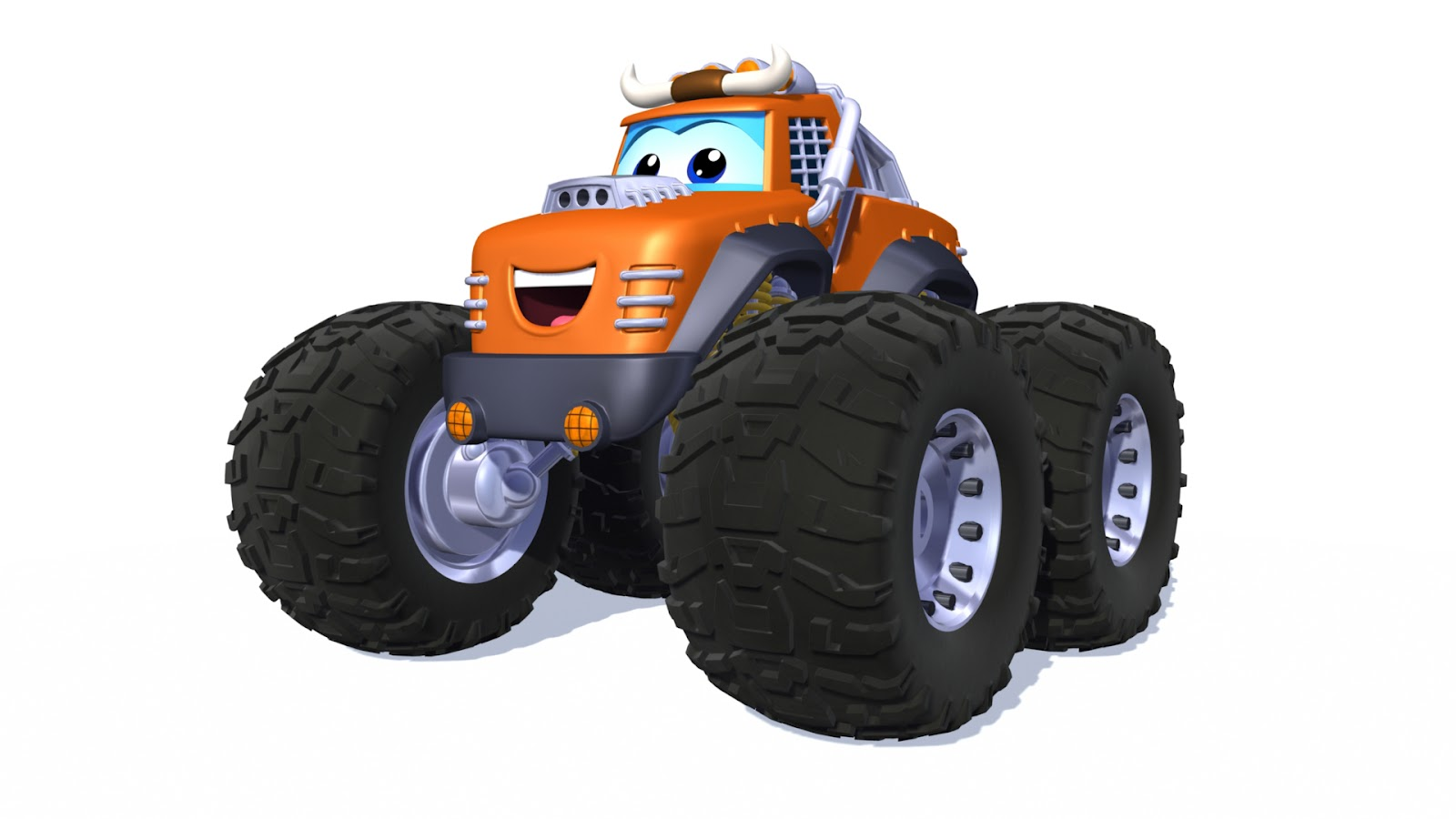 "f6949f93fcf4aa This little monster truck loves to live large. Biggs has energy to burn …  and a ""go for it"" attitude that keeps him ready for anything"