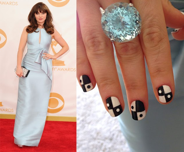 Celebrity nails 2014