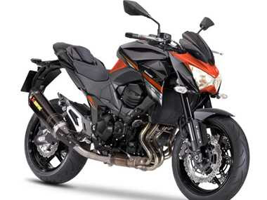 Kawasaki-Z800-Side-View-Orange-Hd Image