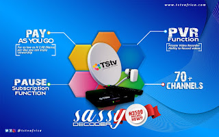 TStv sassy decoder, where to buy Tstv sassy decoder, price of TSTV Sassy Decoder