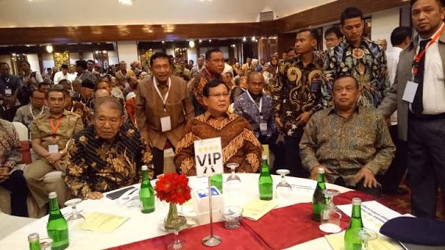 Eks KASAU hingga Danjen Kopassus Era Soeharto Deklarasi Dukung Prabowo