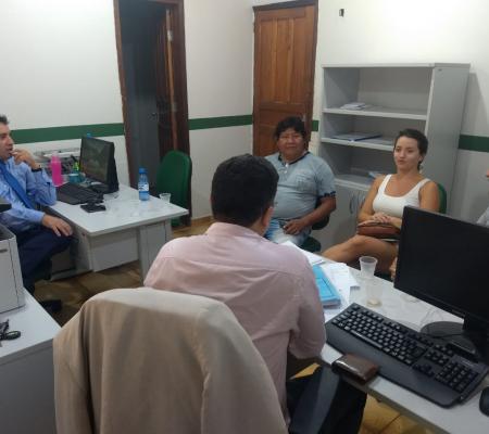 Defensor Público-Geral se reúne com líder indígena e pesquisadores
