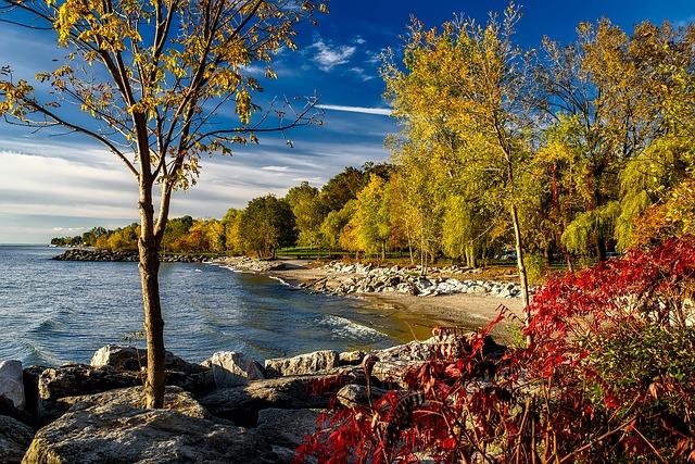 ảnh hồ Ontario Mùa Thu đẹp