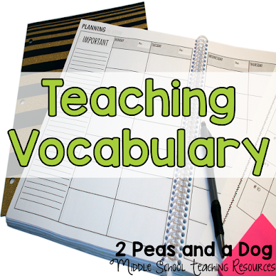 Read how teachers make their vocabulary lessons meaningful and engaging by using cue cards, games, student competitions and teaching Greek and Latin root words.