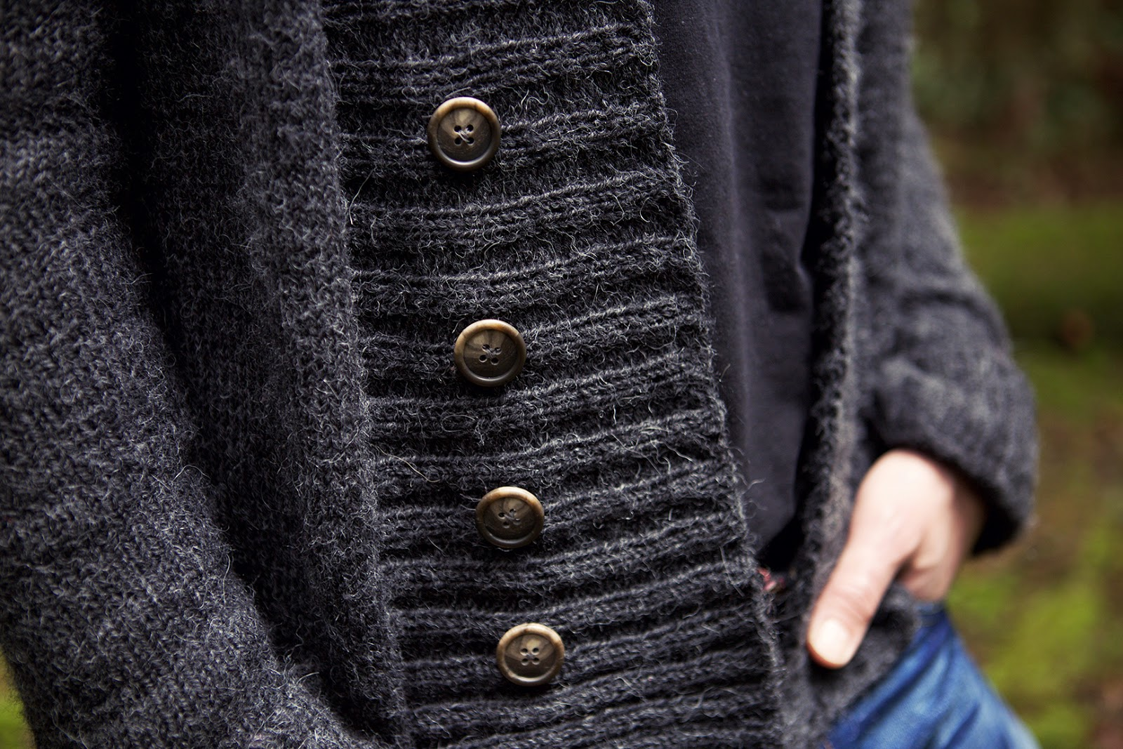 La Petite Josette: Knitting: A Sweater for My Man