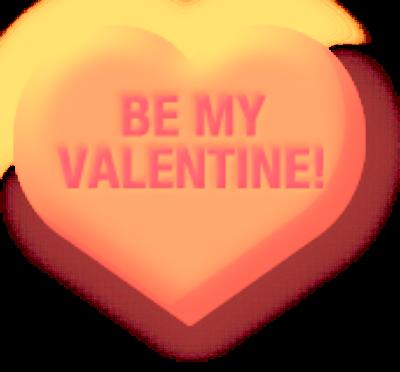 Valentine Conversation Heart Printables with Cherub Cupid ...