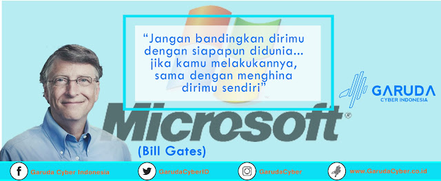 Download Free File PSD JPEG Desain Quote Daily Bill Gates