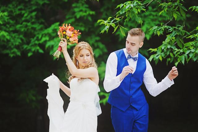 яркая свадьба идеи