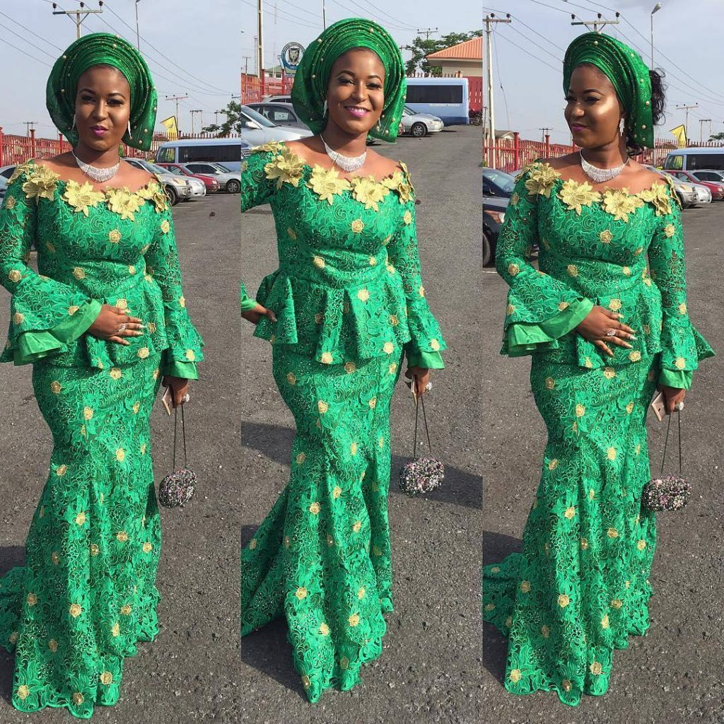 042ed417024ac7 Lace Skirt And Blouse Aso Ebi